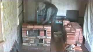 getlinkyoutube.com-Rustic oven.Строим печку за 4.30 минуты....