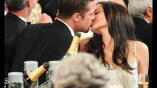 getlinkyoutube.com-BRAD AND ANGELINA'S KISSES