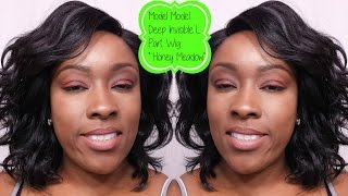 WIg Review || Model Model Deep Invisible L Part Wig Honey Meadow