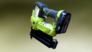 getlinkyoutube.com-What Can You Do With A Cordless Air Nailer?
