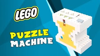 getlinkyoutube.com-LEGO Puzzle Machine 'Amazing'