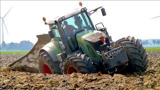 getlinkyoutube.com-Deep ploughing | Fendt 936 vario | Van Werven diepploegen / Deep plowing