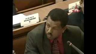 getlinkyoutube.com-Ethiopian Oposition Leader Lidetu Ayalew grilling PM Meles - ETHIOPIAN Parliment [must watch]