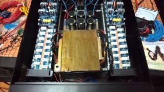 ร้อยซาวด์ เพาเวอร์แอมป์- Power Amp 2400W ชุดที่1 รุ่น S2400