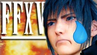 getlinkyoutube.com-SASUKE BECOMES HOKAGE... | Final Fantasy 15 Gameplay (FFXV Part 2)