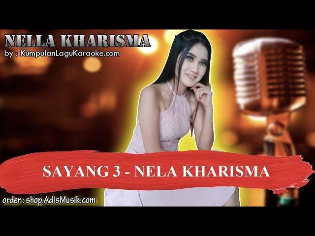 SAYANG 3 - NELA KHARISMA Karaoke