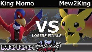 MVG FOX|Mew2King (Marth & Pichu) vs. King Momo (Falco & Pichu) - Melee Losers Finals - TNS7