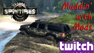 getlinkyoutube.com-SpinTires - Muddin' with Mods Part 2!