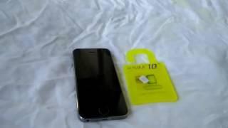 Tutorial Pemasangan R-SIM 10+ Plus untuk unlock iphone 4s 5 5s 5c 6 6+ 6s 6s+ support ios 9.x