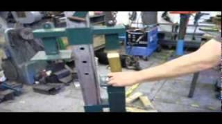 getlinkyoutube.com-log splitter, paper brick maker ,saw horse. multimate recycler