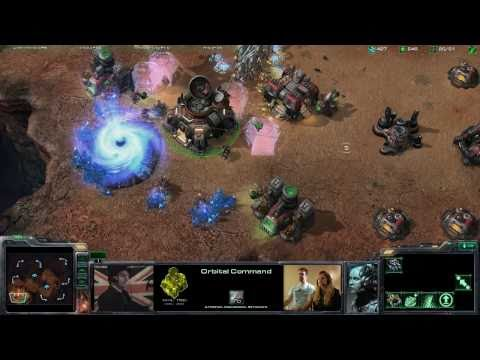 TotalBiscuit vs LisaNova in StarCraft2!!!