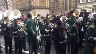 London's New Year's Day Parade 2014  - The Kimbanguist Brass Band - 1/1/2014 (HD)