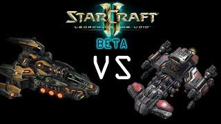 Legacy of The Void: Liberator Vs Battlecruiser (Beta)