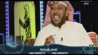 getlinkyoutube.com-رد المطربة شمس الكويتية على تقليد حسن البلام لها في اشطح - تو الليل