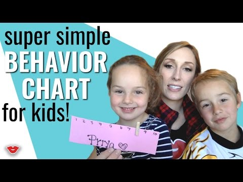 0 Creating a Behavioral Chart for Kids