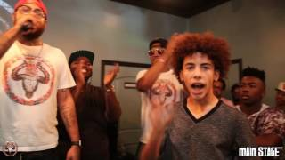 JI PRINCE OF NY (The Rap Game) FULL Rap Battle vs CANNON THABEAST  | Hosted by John John Da Don