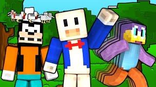 If Minecraft was a Cartoon