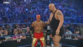 "getlinkyoutube.com-WWE Smackdown Rey Mysterio/Big Show vs 'Dashing Cody Rhodes""/Jack  Swagger Part 1"