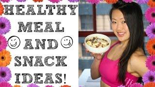 getlinkyoutube.com-❤ FOOD I EAT (Healthy meal & snack ideas) | My Food Diary