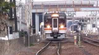 getlinkyoutube.com-JR東海 高山本線・太多線 キハ75、キハ25が活躍中・・・