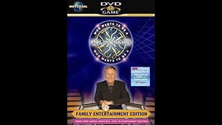 Who Wants To Be A Millionaire? DVD 4th Edition - Opening