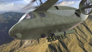 getlinkyoutube.com-AVX Aircraft - Compound Coaxial Helicopter (CCH) Simulation [1080p]