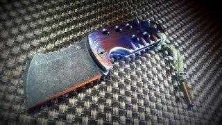 getlinkyoutube.com-Doberman Knives Full Ti Friction Folder