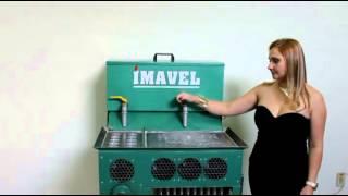 getlinkyoutube.com-Máquina de fabricação de velas modelo 2 em 1 Imavel - maço e 7 dias