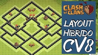 "getlinkyoutube.com-LAYOUT HÍBRIDO PARA CV8 (NOVA ATUALIZAÇÃO) TH8 HYBRID BASE DESIGN ""NEW UPDATE"""