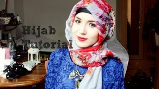 getlinkyoutube.com-Hijab Tutorial l Simple & elegant
