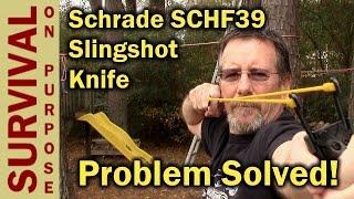 getlinkyoutube.com-Schrade SCHF39 Slingshot Knife Problem Solved