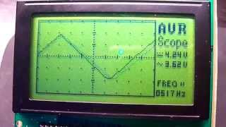 getlinkyoutube.com-AVR oscilloscope v2.00 Video 1
