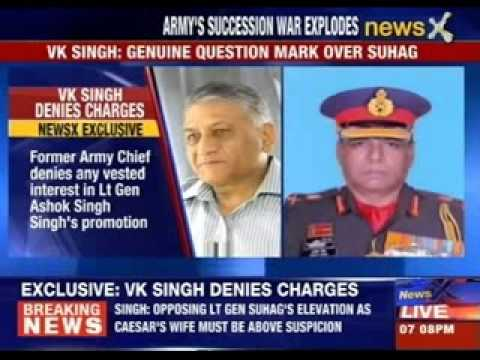 Announcement at Lt Dalbir Singh Suhag as a next Chief too premature