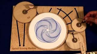 getlinkyoutube.com-Joe Freedman's Amazing Cycloid Drawing Machine