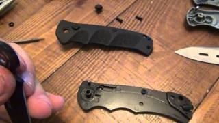 "getlinkyoutube.com-How To : Make A Manual Knife An Automatic Knife (""Stiletto"",""Switchblade"" & ""Switch Knife"")"