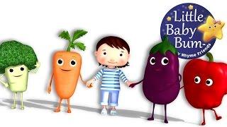 getlinkyoutube.com-Eat Your Vegetables Song | Nursery Rhymes | Original Song by LittleBabyBum!