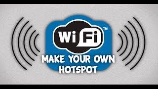 getlinkyoutube.com-Turn Your PC Into A WIFI Hotspot