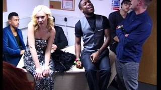 getlinkyoutube.com-David Wilder / X-Factor finalists backstage at Wembley