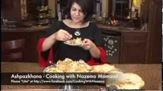 getlinkyoutube.com-Ashpazkhana - Cooking with Nazema Momand - Spinach Filo Dough پيش غذائ