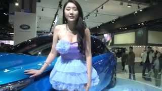 getlinkyoutube.com-[14] Sexy racing  model motor show 2015 - KoonTV