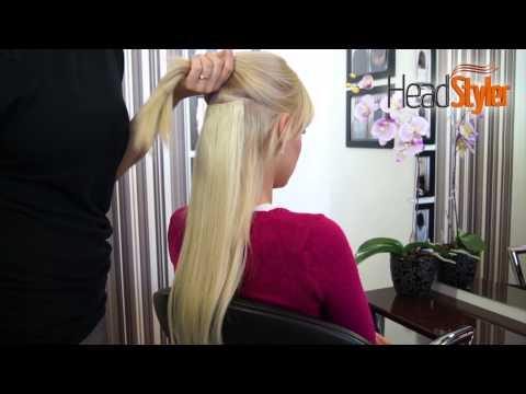 Przedłużanie włosów metodą CLIP IN, DOPINKI HEADSTYLER 100gram 50cm