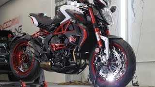 getlinkyoutube.com-MV Agusta Dragster Brutale Lewis Hamilton Edition/ Ceramic Pro by Advanced Detailing