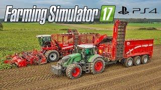 getlinkyoutube.com-Farming Simulator 17 - Colheita de Batata Mecanizada