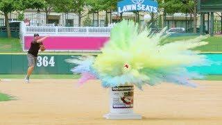 Baseball Trick Shots | Dude Perfect