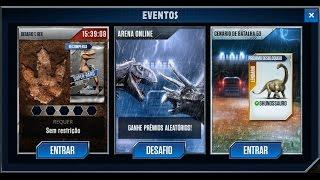 getlinkyoutube.com-Jurassic World - The Game - T. Rex Challenge (Desafio T-Rex)