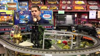 getlinkyoutube.com-Lionel Lion Chief Polar Express O Gauge Remote Set
