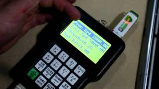 Quick-CNC K6100a usage demo.