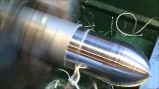 getlinkyoutube.com-Mach 3 CNC lathe turning an Egg Shape In 6061 Aluminum