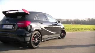 getlinkyoutube.com-Mercedes-Benz A 45 AMG Edition 1 Revs & Accelerations!