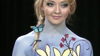 getlinkyoutube.com-Body Painters Mythica from Skin Wars, Sophia Rose and Sam Speigel talk to Jacinta Lobato